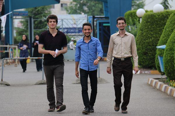 کنکور کارشناسی ارشد سال 95 دانشگاه آزاد در لاهیجان (37)
