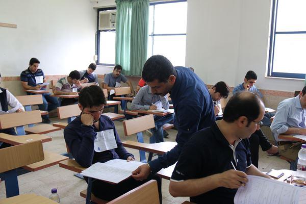 کنکور کارشناسی ارشد سال 95 دانشگاه آزاد در لاهیجان (53)