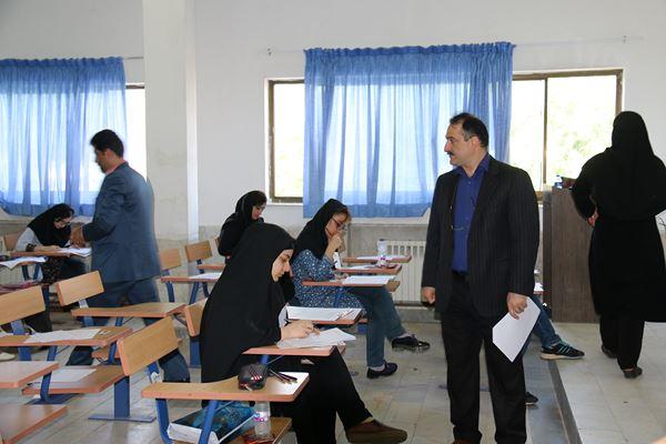 کنکور کارشناسی ارشد سال 95 دانشگاه آزاد در لاهیجان (73)