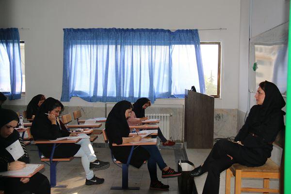کنکور کارشناسی ارشد سال 95 دانشگاه آزاد در لاهیجان (74)