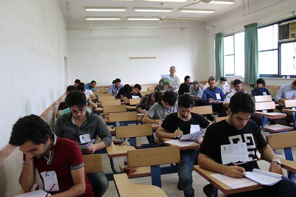 کنکور کارشناسی ارشد سال 95 دانشگاه آزاد در لاهیجان (78)