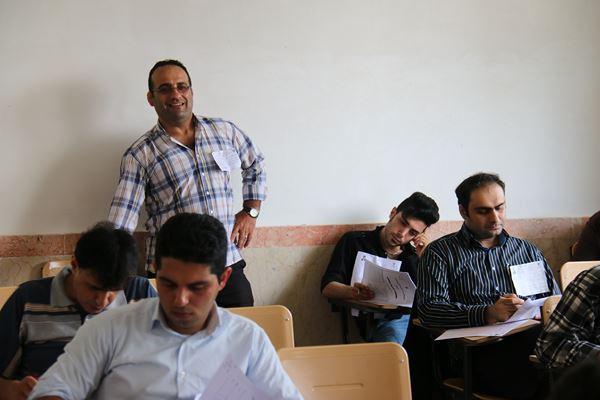 کنکور کارشناسی ارشد سال 95 دانشگاه آزاد در لاهیجان (95)