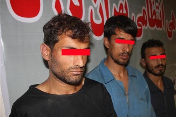 حمله ۳ مرد افغان به دختر و مادر تهرانی+ تصاویر