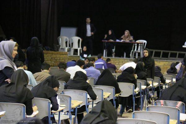 امتحانات دانشگاه آزاد لاهیجان 12 600x400 - دستگیری یک دانشآموز و ۸ کلاهبردار در پرونده لو رفتن سوالات   سوالات منتشر شده در فضای مجازی جعلی بود