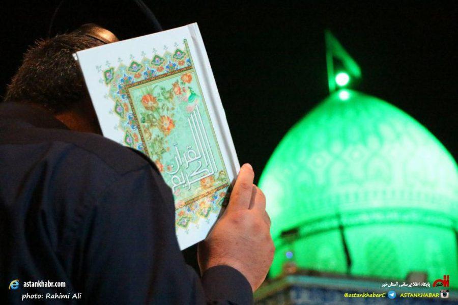 مراسم دومین شب احیای قدر در آستانهاشرفیه / گزارش تصویری