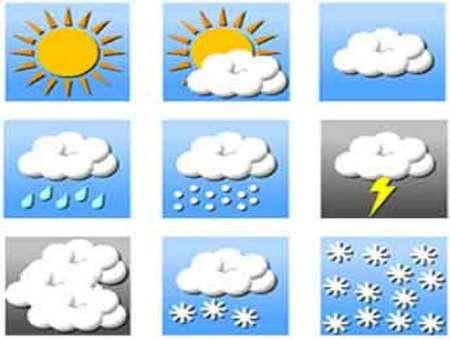 آسمان گیلان در نخستین روزهای هفته پیش رو نیمه ابری همراه با بارندگی است