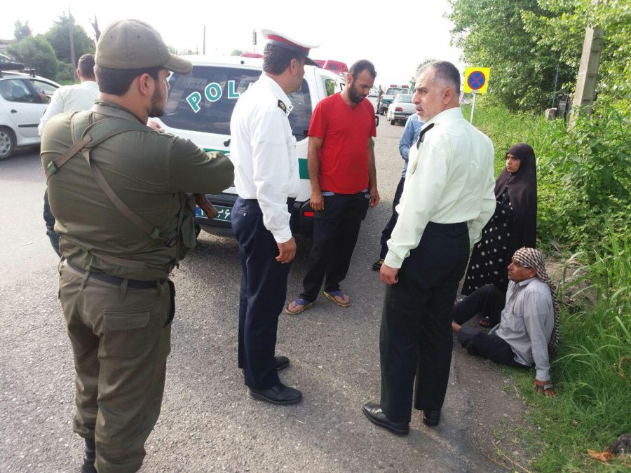 طرح جمع آوری متکدیان مزاحم در شهرستان رودسر/ گزارش تصویری