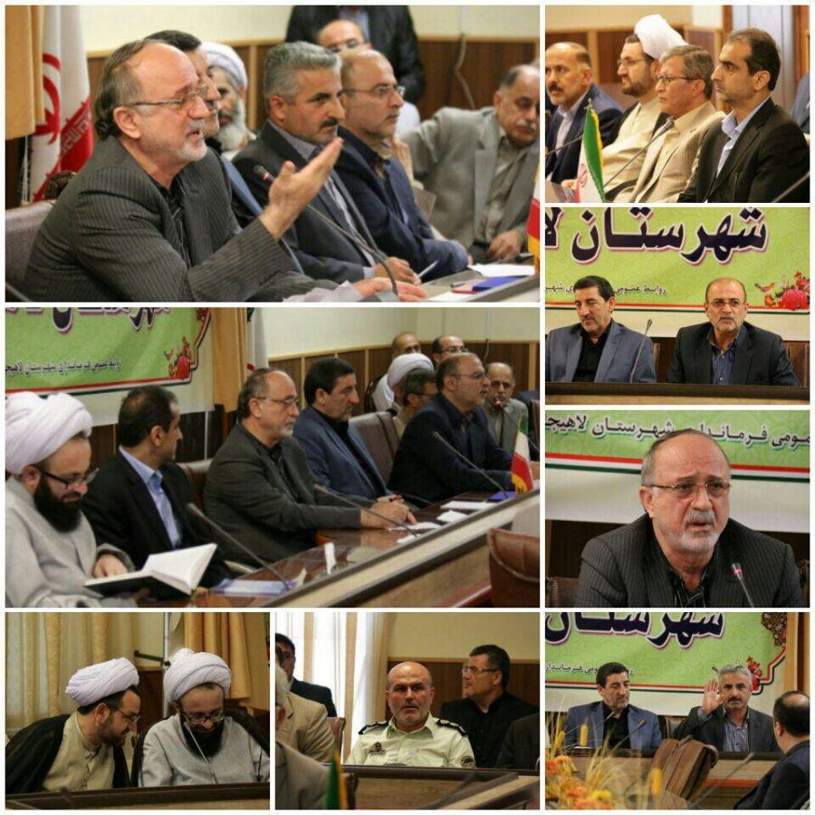 مراسم تودیع و معارفه فرماندار لاهیجان برگزار شد + تصاویر