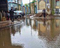آبگرفتگی خیابانهای آستانهاشرفیه +عکس