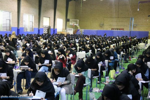 دومین روز کنکور سراسری سال95 در لاهیجان 27 600x400 - تاثیر «معدل» در کنکور ۹۸ مثبت شد