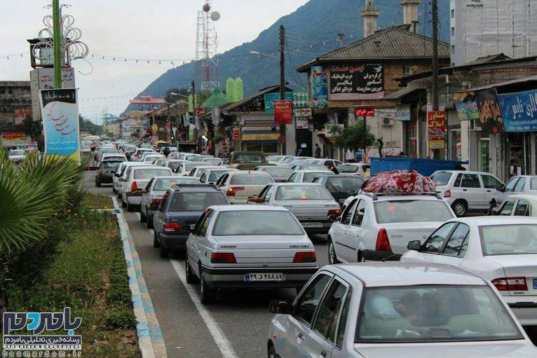 افزایش ۱۴۱ درصدی ورود خودرو به استان گیلان