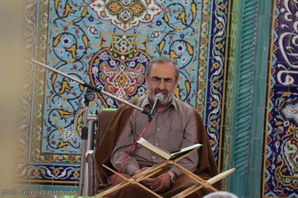 محفل انس با قرآن با حضور قاری بین المللی در دانشگاه آزاد لاهیجان برگزار شد (19)