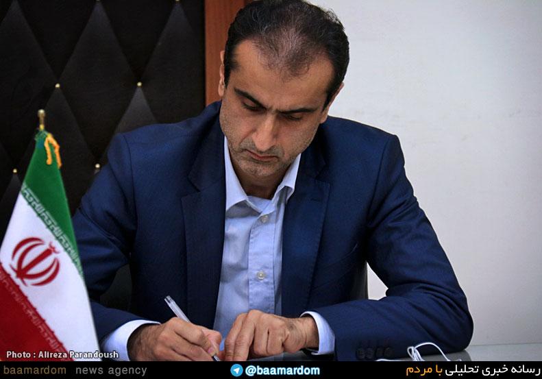پیام تسلیت فرماندار لاهیجان به مناسبت درگذشت رئیس اداره صنعت، معدن و تجارت این شهرستان + تصویر