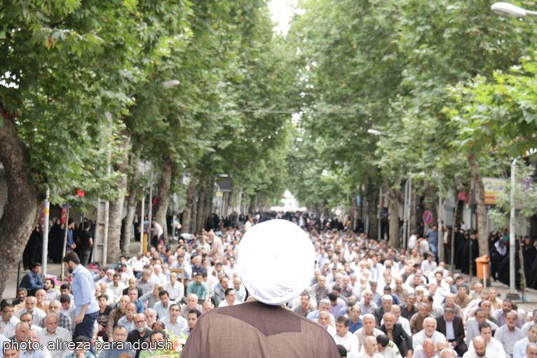 گزارش تصویری نماز عید سعید فطر در لاهیجان