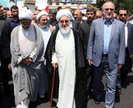 قدردانی استاندار گیلان از حضور حماسی مردم در راهپیمایی روز قدس