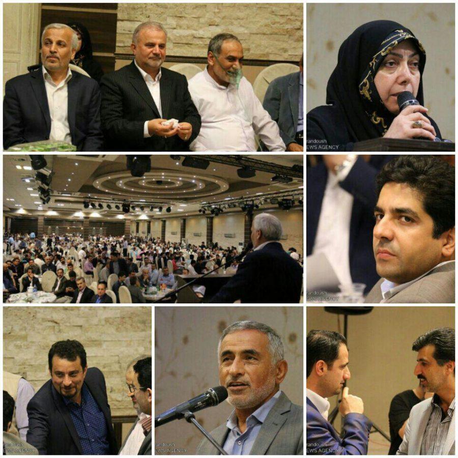 گزارش تصویری ضیافت افطاری و گردهمایی بزرگ اصلاحطلبان گیلان