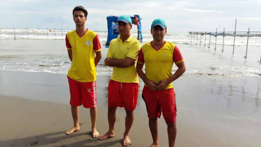 استقرار ناجیان غریق در طرح سالمسازی دریا کلاچای