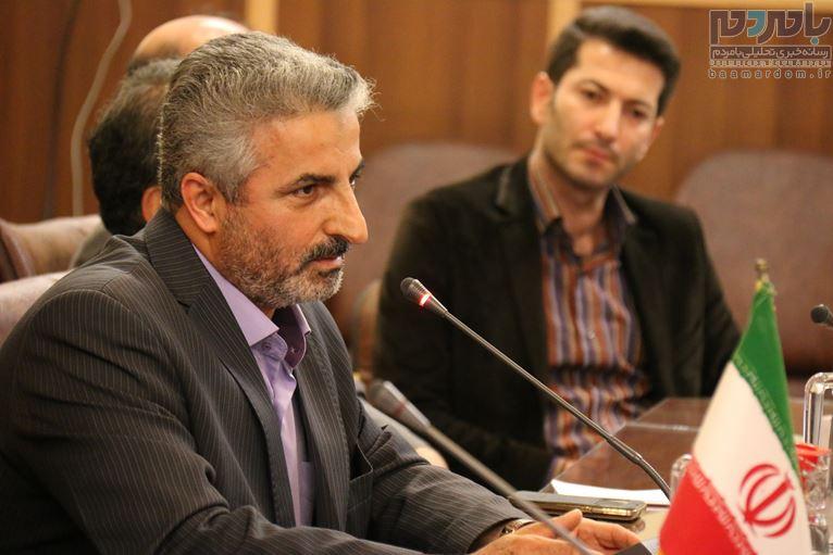 افتتاح دفتر ایرنا در لاهیجان 36 - دفتر خبری ایرنا در لاهیجان افتتاح شد + تصاویر