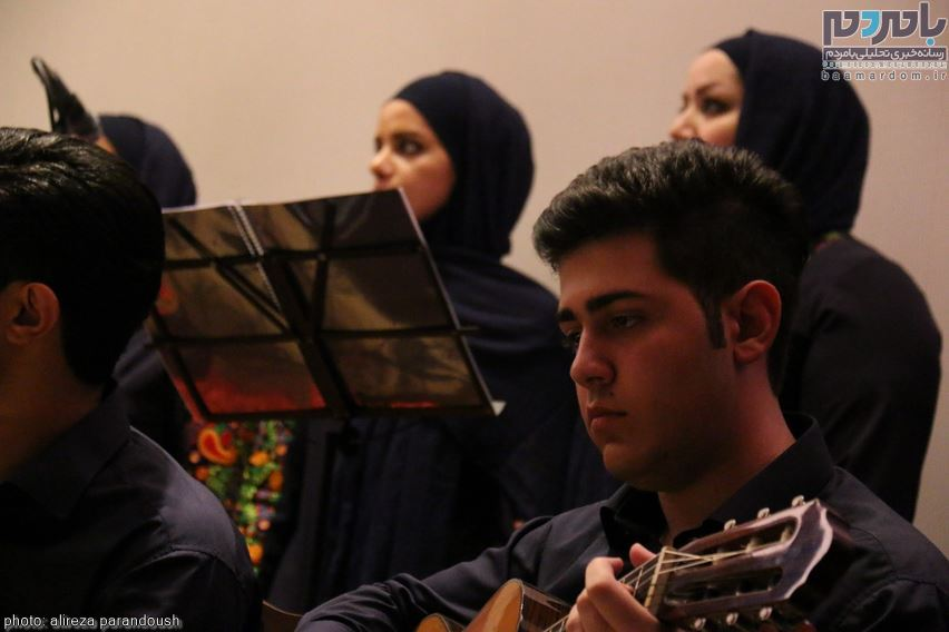 اولین ارکستر شرق گیلان در لاهیجان 31 - اولین ارکستر شرق گیلان در لاهیجان برگزار شد