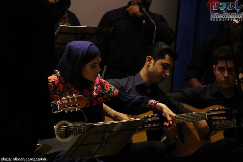اولین ارکستر شرق گیلان در لاهیجان 7 - اولین ارکستر شرق گیلان در لاهیجان برگزار شد