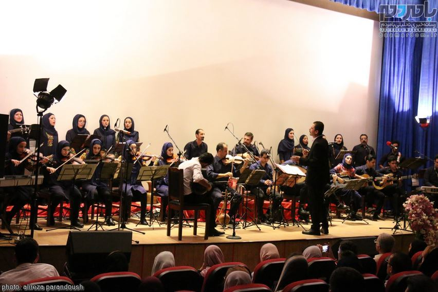 اولین ارکستر شرق گیلان در لاهیجان 8 - اولین ارکستر شرق گیلان در لاهیجان برگزار شد