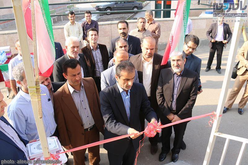 افتتاح پل عابر پیاده با اعتبار دو میلیارد در لاهیجان + تصاویر