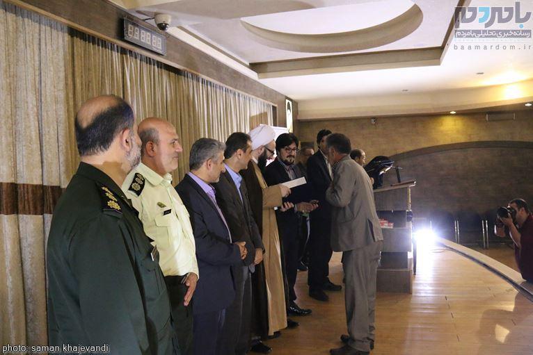 مراسم تجلیل از خبرنگاران و فعالان عرصه اطلاعرسانی در لاهیجان