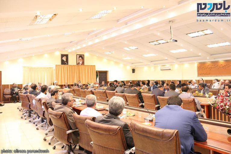 برگزاری جلسه شورای اداری شهرستان لاهیجان