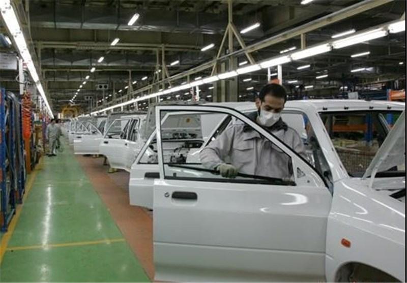 تولید ۲۵ خودرو متوقف شد + اسامی
