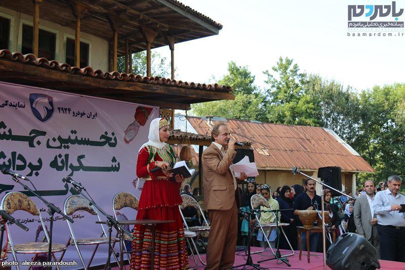 نخستین جشنواره برنج در سیاهکل 62 - نخستین جشنواره شکرانه برداشت برنج در سیاهکل برگزار شد