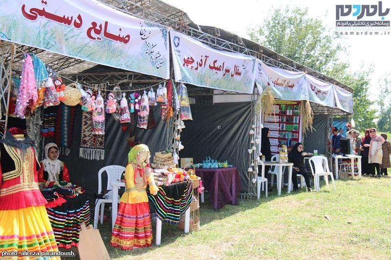 نخستین جشنواره برنج در سیاهکل 9 - نخستین جشنواره شکرانه برداشت برنج در سیاهکل برگزار شد