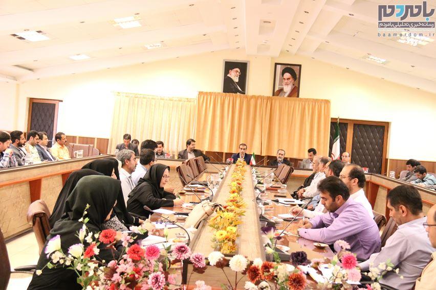 نخستین نشست هماندیشی فرماندار لاهیجان با مسئولین روابط عمومی ادارات شهرستان و اصحاب رسانه