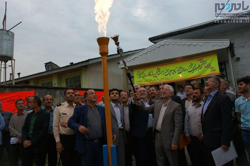 به ۲۷ روستای شهرستان لنگرود گازرسانی شد/۹۰ درصد روستاهای لنگرود از نعمت گاز برخوردار شدند