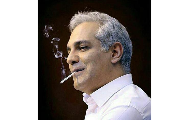 دردسر سیگار روشن در گوشه لب برای مهران مدیری +عکس