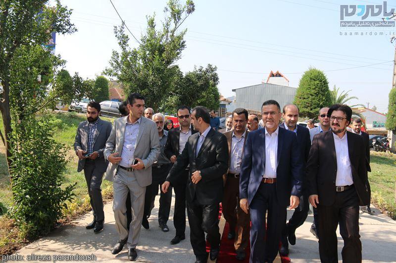 IMG 3875 Copy Copy - مراسم افتتاح پروژه های عمرانی شهرداری لاهیجان