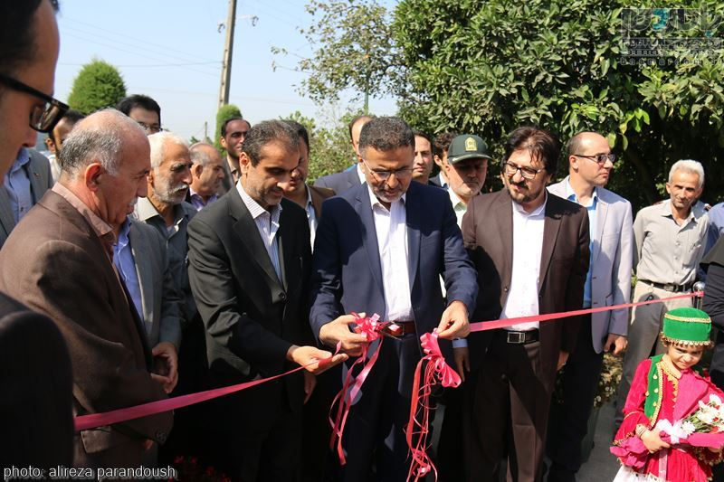 IMG 3884 Copy Copy - مراسم افتتاح پروژه های عمرانی شهرداری لاهیجان