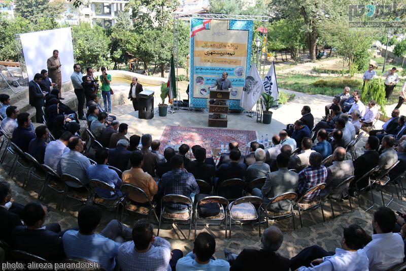 IMG 4090 Copy Copy - مراسم افتتاح پروژه های عمرانی شهرداری لاهیجان