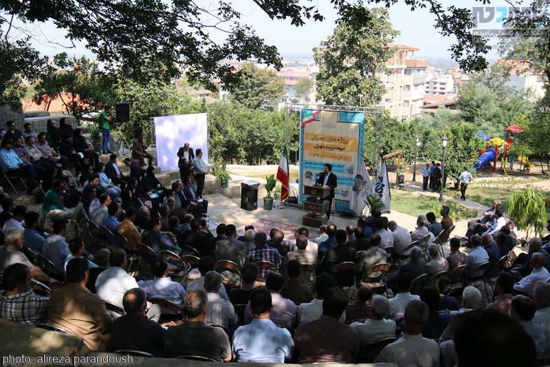 IMG 4118 Copy Copy - مراسم افتتاح پروژه های عمرانی شهرداری لاهیجان