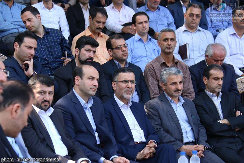 IMG 4155 Copy Copy - مراسم افتتاح پروژه های عمرانی شهرداری لاهیجان