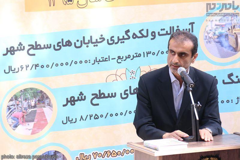 IMG 4216 Copy Copy - مراسم افتتاح پروژه های عمرانی شهرداری لاهیجان