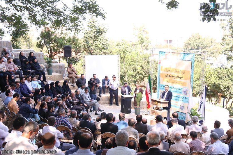 IMG 4238 Copy Copy - مراسم افتتاح پروژه های عمرانی شهرداری لاهیجان