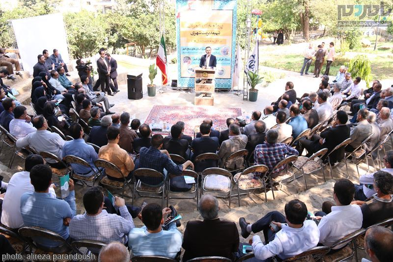 مراسم افتتاح پروژه های عمرانی شهرداری لاهیجان