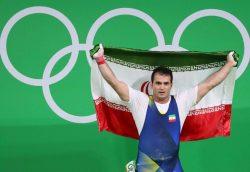 سهراب مرادی مقتدرانه طلا گرفت/ قدرت نمایی وزنه برداری ایران در المپیک