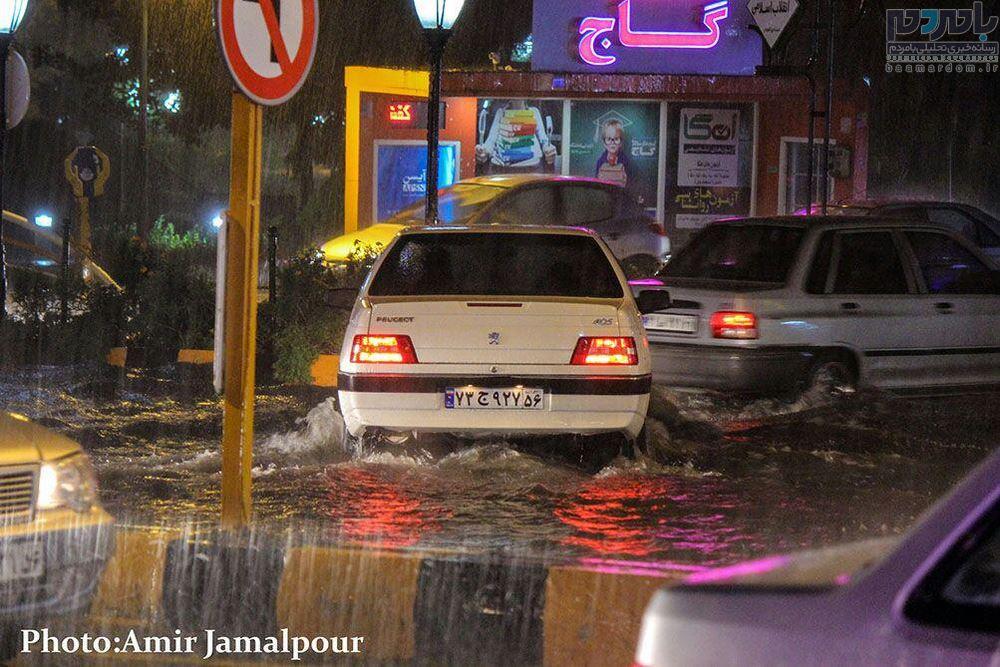 هشدار وقوع سیلاب و آب گرفتگی معابر در گیلان