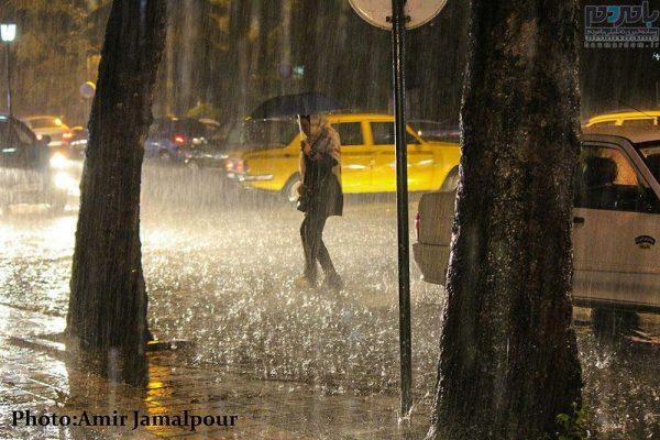 شدید باران در لاهیجان 8 600x400 - آغاز موج جدید بارشها از فردا