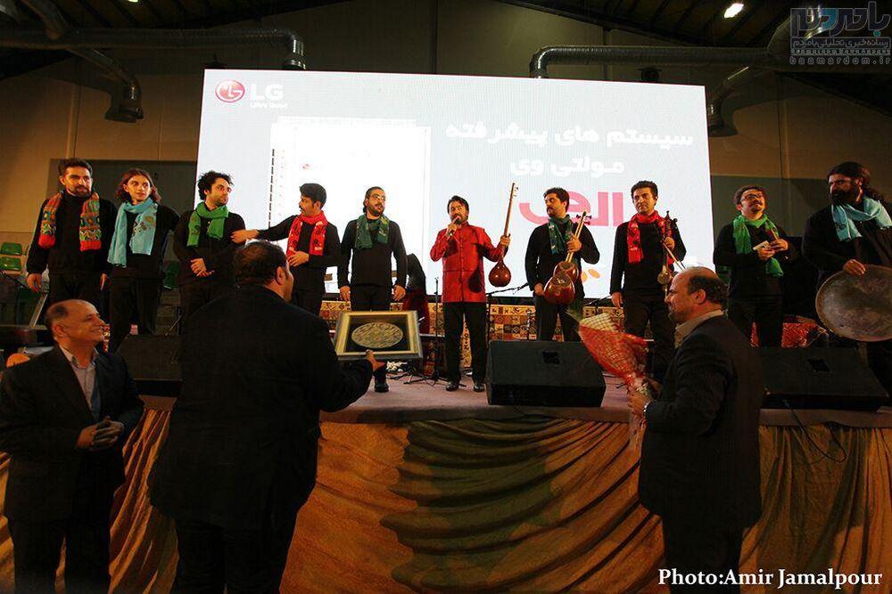 کنسرت «پروازهمای» در لاهیجان