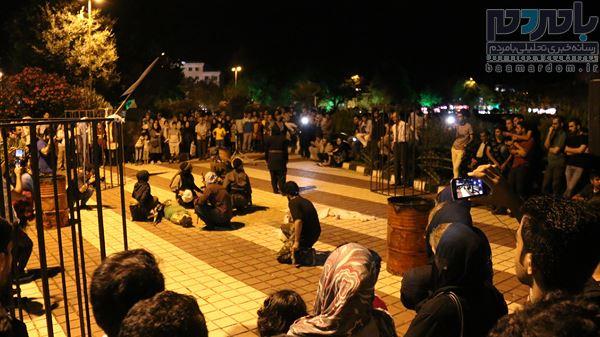 ۲۴ نمایش خیابانی در لاهیجان اجرا شد/استقبال پرشور مخاطبان از اجرا ها+ تصاویر