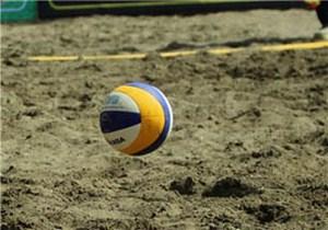 آغاز رقابتهای والیبال ساحلی کشور در لنگرود