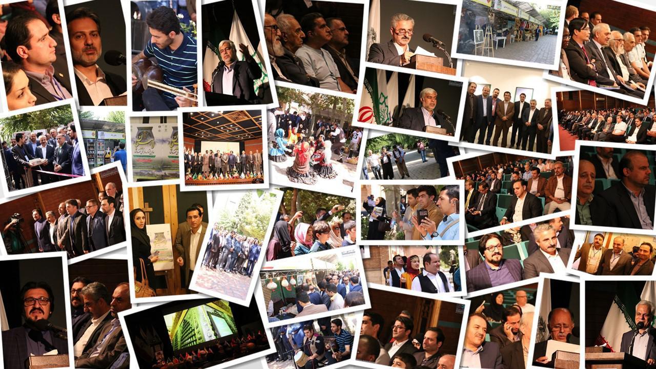 اولین روز جشنواره لاهیجان در خانه هنرمندان