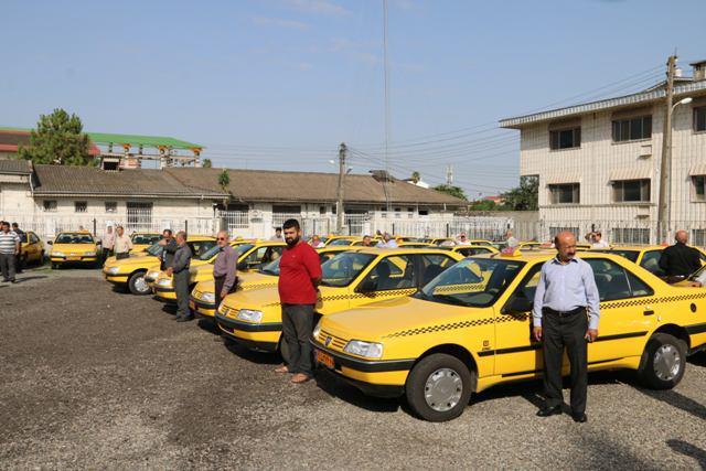 ۷۷ دستگاه تاکسی در ناوگان حمل ونقل لاهیجان نوسازی شدند